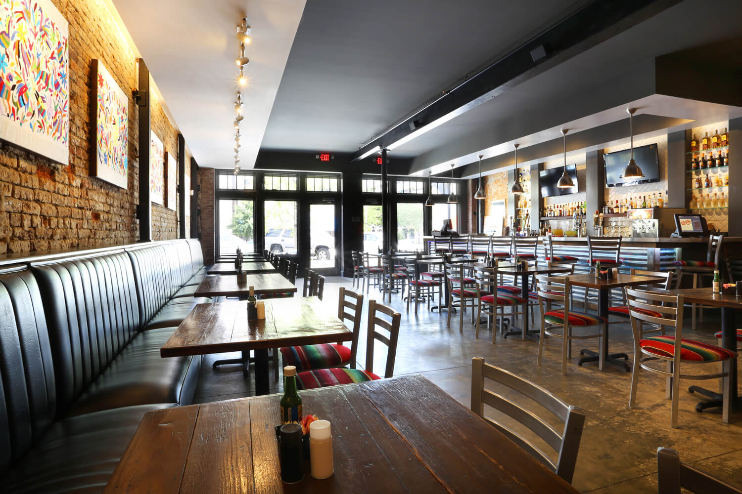 Cuco's Mexican Café Restaurant Designed by Foshee Architecture – View of Interior
