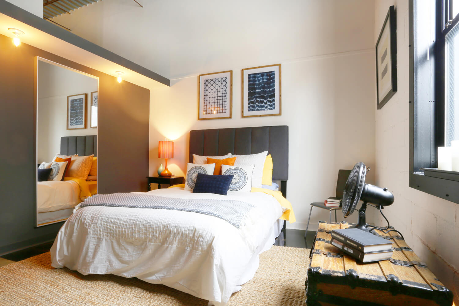 District 36 Lofts Designed by Foshee Architecture - Apartment Bedroom