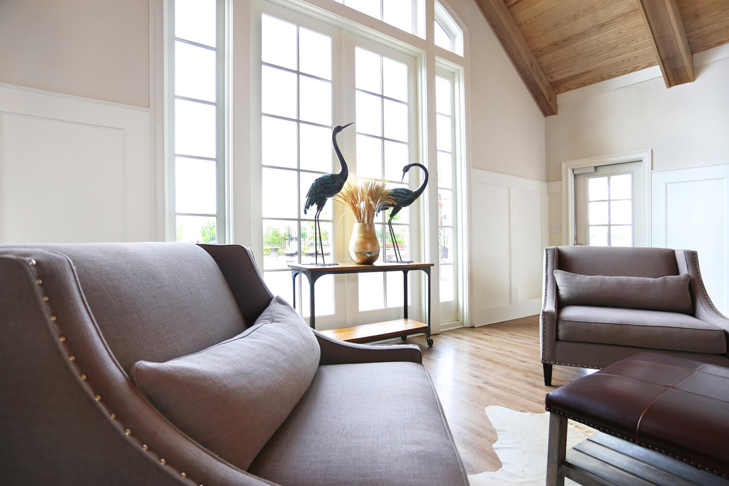 The Morgan Apartments Clubhouse Designed by Foshee Architecture - Window Seating Area