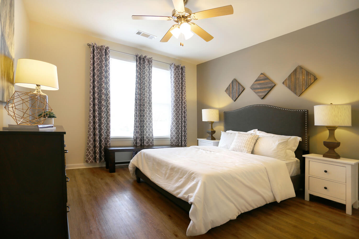 The Morgan Apartments Designed by Foshee Architecture - View of Master Bedroom